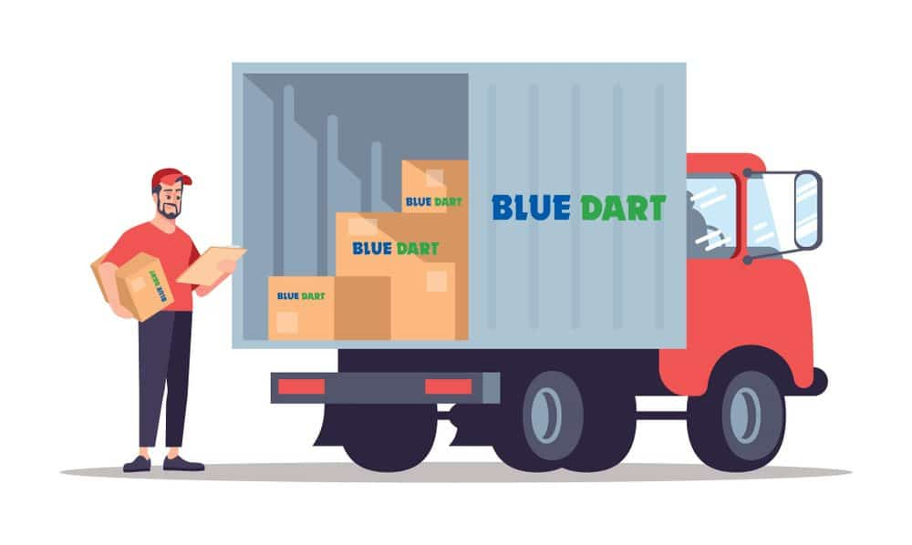 Start a Blue Dart Franchise Courier Service In India