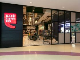 Cafe Coffee Day Outlet at Shopping Mall