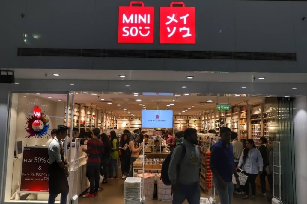 Miniso store in Gurugram, Haryana