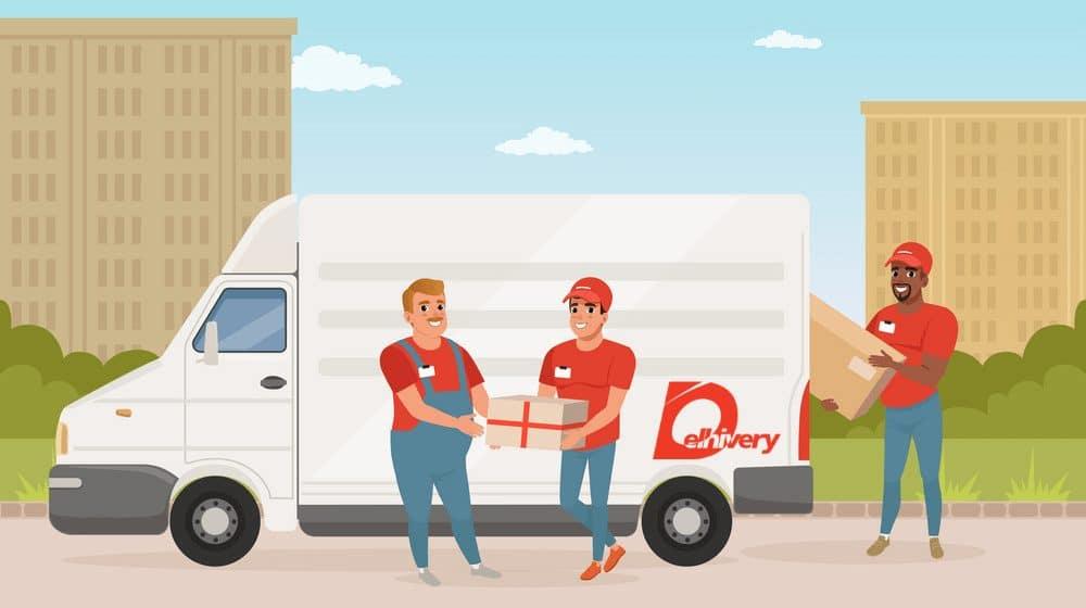 Delhivery Logistics Service in India