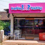 Baskin Robbins Store in Goa, India