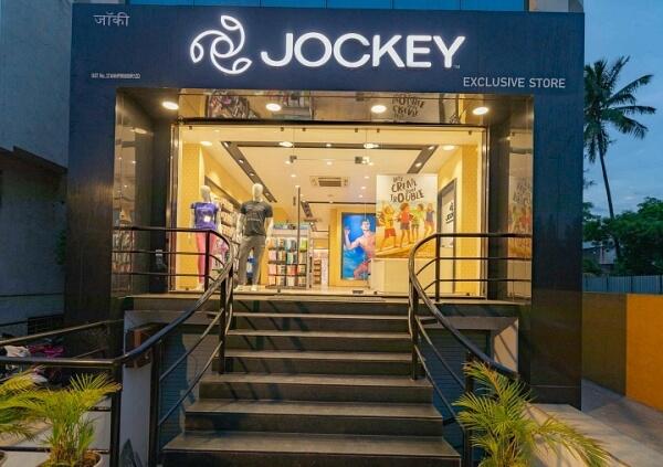 Jockey outlet in Sangli, Maharashtra, India