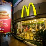 McDonalds Restaurant in AHMEDABAD, GUJARAT, INDIA
