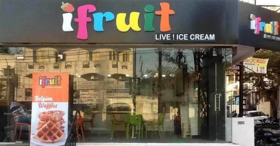 iFruit Ice Cream Store in Hyderabad, India