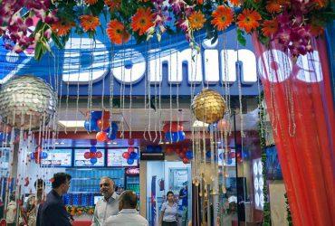 Domino's Pizza Store in New Delhi, India