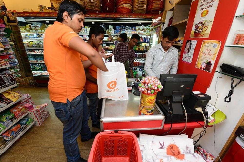 Image of grofers store outlet